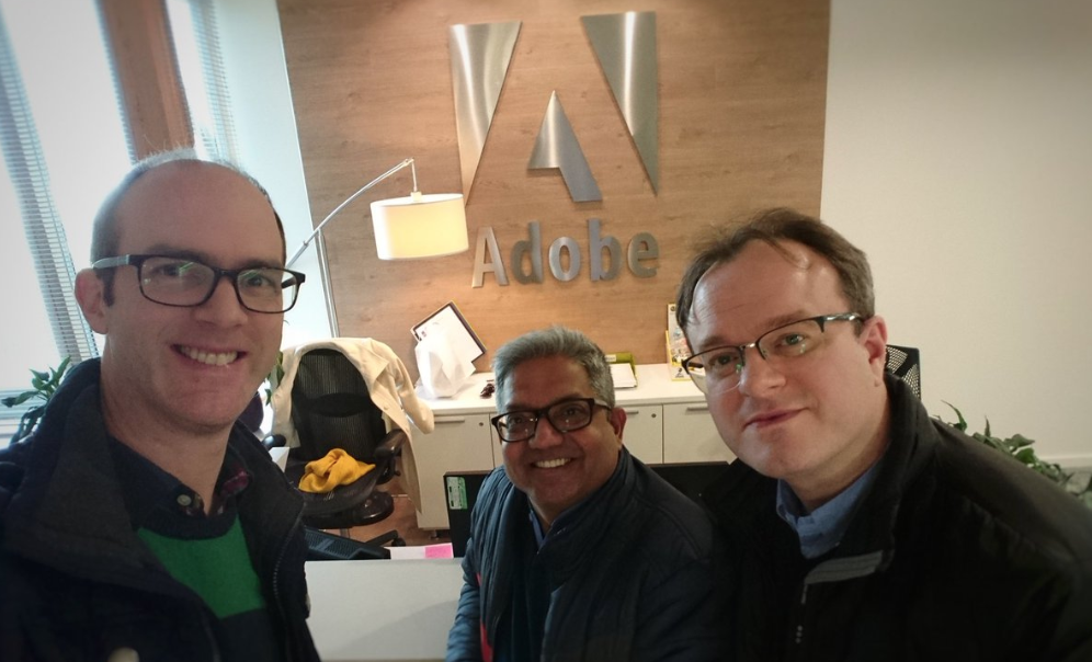 Monsoon Consulting visit Adobe
