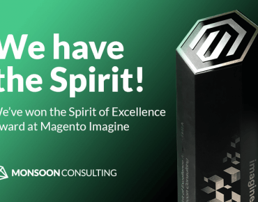 Magento Imagine 2018 Spirit of Excellence Award