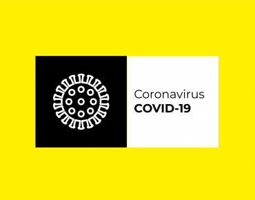 Icon of a virus to illustrate the coronavirus