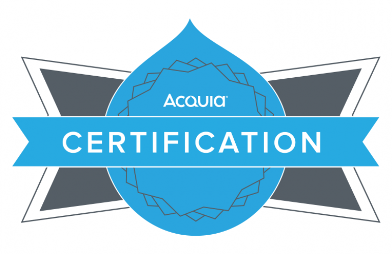 Acquia Certified Drupal 8 Front End Specialist Certification